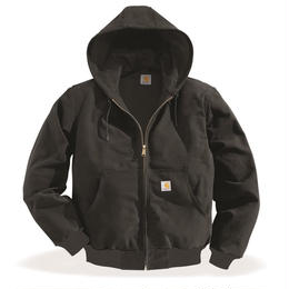 CARHARTT  J131 Thermal-lined Cotton Duck Active Jacket-Black