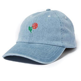 THE QUIET LIFE ROSE DAD HAT-DENIM