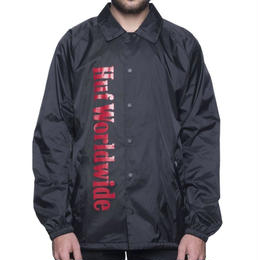HUF COUNTRY COACHES JACKET - BLACK