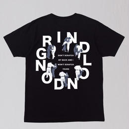 GRIND LONDON DON'T SCRATCH TEE-BLACK