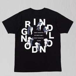 GRIND LONDON DON'T SCRATCH TEE-BLACK