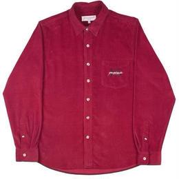 Yardsale Burgundy  YS corduroy shirt