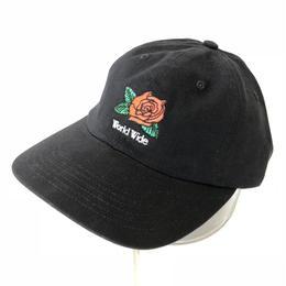BUTTER GOODS 7 PANEL CAP - BLACK