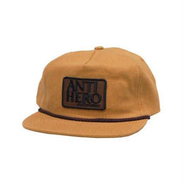 Anti Hero Reserve Patch Snapback Hat - Tan