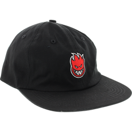 SPIT FIRE LIL BIGHEAD FILL SNAPBACK HAT - BLK /RED