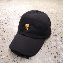 PIZZA SKATEBOARDS EMOJI DELIVERY CAP - BLACK ピザ スケートボード エモジ デリバリー キャップ ブラック