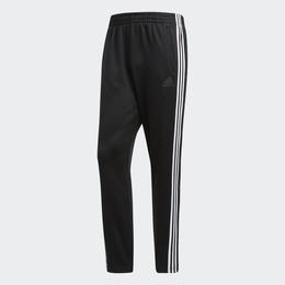 ADIDAS SNAP TRACKSUIT BOTTOMS - BLACK /  LINE WHITE