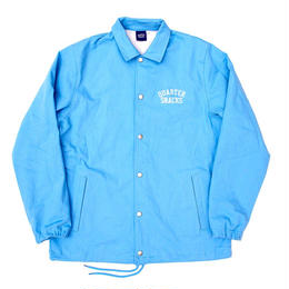 QUARTERSNACKS Canvas Coach Jacket — Baby Blue