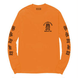 5BORO 5B X DS HAWAII DIVISION WHITE L/S-ORANGE