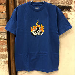 Tall Can Boys Dice Tee - Blue