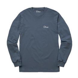 DIME CLASSIC LOGO LONGSLEEVE T-SHIRT - Stone Blue