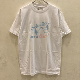 GIRL SKATEBOARDS DELIVERY TEE - WHITE