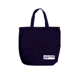 QUARTERSNACKS Grocery Tote — Navy Canvas