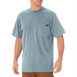 DICKIES Short Sleeve Heavyweight T-Shirt - Dockside Blue