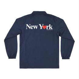 ONLY NY New York Love Coach Jacket-NAVY