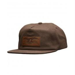 Anti Hero Standard Issue Eagle Snapback Hat - Brown
