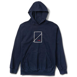 NUMBERS EDITION EDITION SYMBOL  PULLOVER HOODIE-NAVY-