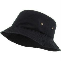 KB ETHOS COTTON BUCKET HAT-BLACK