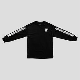 PASS~PORT PP WORLD RECORDS  L/S TEE - BLACK