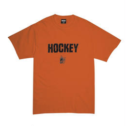 HOCKEY Silence Tee-TEXAS ORANGE