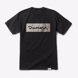 Diamond Supply Co. RADIANT BOX LOGO TEE-BLACK