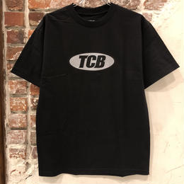 Tall Can Boys Metallic Over Logo Tee - Black