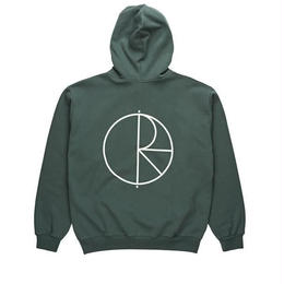 POLAR SKATE CO STROKE LOGO HOODIE - Grey Green