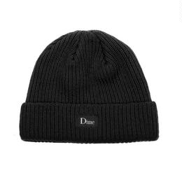 DIME HEAVYWEIGHT BEANIE-Black