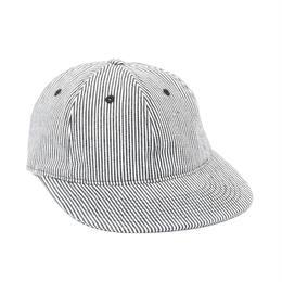 ONLY NY Hickory Striped Polo Hat - Navy