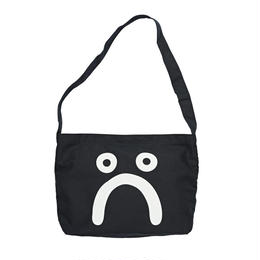 POLAR SKATE CO HAPPY SAD TOTE BAG-BLACK