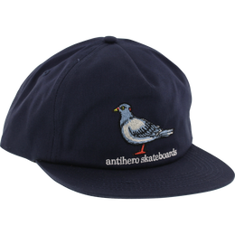 ANTI HERO PIGEON EMBLEM 5P HAT - NAVY