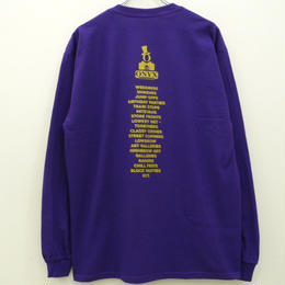 ONYX COLLECTIVE ENTERTAINMENT SUPPLY LS TEE-PURPLE