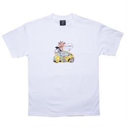 Alltimers ALLTIMERS RICH ZOO TEE-WHITE