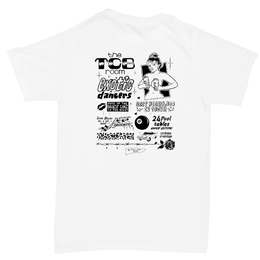 Tall Can Boys TCB ROOM TEE-WHITE