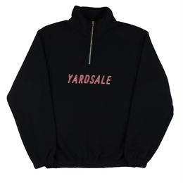 YARDSALE Black Rosé fleece