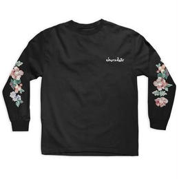 CHOCOLATE SKATEBOARDS FLORAL CHUNK L/S BLACK