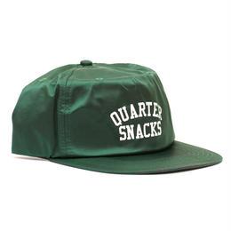 QUARTER SNACKS NYLON ARCH CAP-GREEN