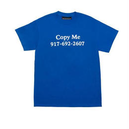 Callme 917 Copy Me T-Shirt-BLUE