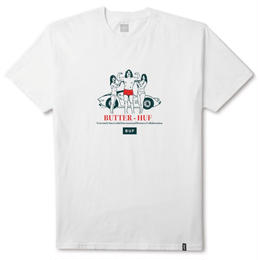 HUF X BUTTER GOODS BUF TEE - WHITE