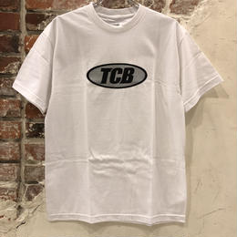 Tall Can Boys Metallic Over Logo Tee - White