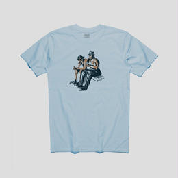 PASS~PORT FRIENDLY TEE - POWDER BLUE