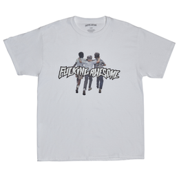 FUCKING AWESOME Friends Tee-White
