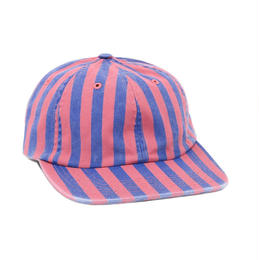 ONLY NY Nautical Striped Polo Hat-Nautical Red