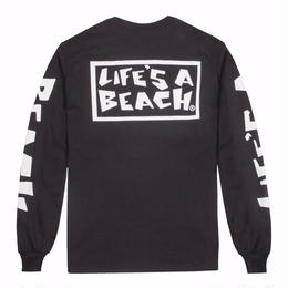 LIFE'S A BEACH LAB All Sleeve-Black