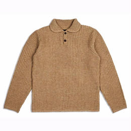 Brixton GREENPOINT HENLEY SWEATER-NATURAL