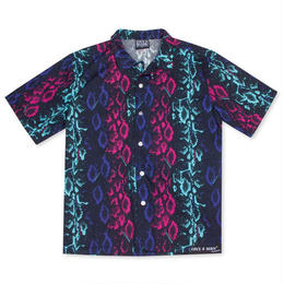 LIFE'S A BEACH Electro Snake Collar Shirt - MULTI