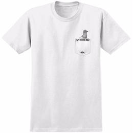 Anti Hero POCKET PIGEON T-SHIRT-White