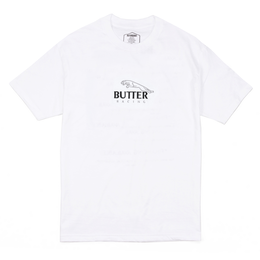 BUTTER GOODS RACING TEE, WHITE