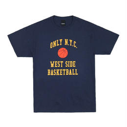 ONLY NY West Side Basketball T-Shirt - Navy