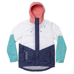 THE QUIET LIFE PARK WINDBREAKER JACKET-WHITE